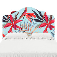 In the Tropics 2 Headboard Decal