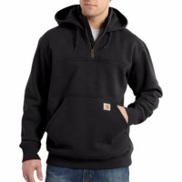 Carhartt Rain Defender Paxton Water Repellent Sweatshirt | Black SOLD OUT