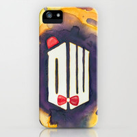 Doctor Who iPhone Case by Foreverwars