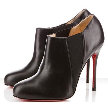 Christian Louboutin Women Fashion Casual Heels Shoes Boots-29