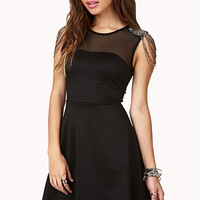 Luxe Fit & Flare Dress