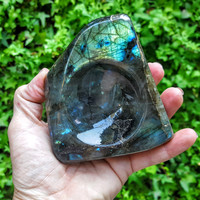 Labradorite Ashtray - Keepsake Bowl