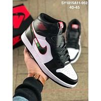 Nike Air Jordan AJ1 Trending Men Stylish Personality Running Sport Shoes Sneakers