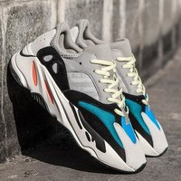 ADIDAS YEEZY BOOST 700 Tide brand thick-bottomed muffin casual men and women retro old shoes sneakers 1#