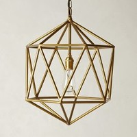 Euclidean Pendant, Faceted Orb by Anthropologie