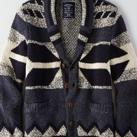AEO Men's Southwestern Cardigan (Peacoat Navy)