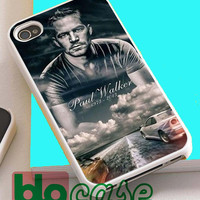 Rip Paul Walker For Iphone 4/4s, iPhone 5/5s, iPhone 5C, iphone 6, and iPhone 6 Plus Case