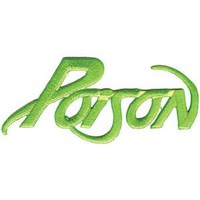 Poison Men's Embroidered Patch Green