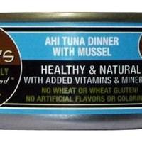 Dave's Naturally Healthy Tuna/Mussel Can Cat 24/5.5oz