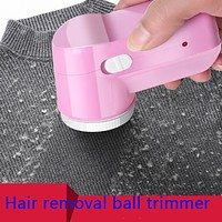 Household sticky ball scraping, suction and hair removal machine