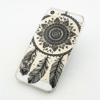 Vintage Printed Pattern Back Covers Art Abstract Cases For Iphone 5 5s 0...