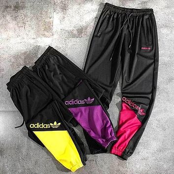 Adidas Newest Popular Women Men Casual Embroidery Sport Pants Trousers Sweatpants