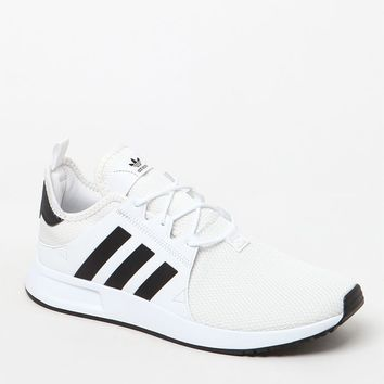 adidas X_ PLR Knit White and Black Shoes at PacSun.com