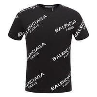DCCKUN2 Balenciaga Women or Men Fashion Casual Letter Print Shirt Top Tee