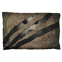 Halloween Horror Movie Mask Slasher Attack Pillow Case