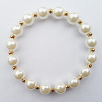 10MM Pearl beads  bracelet