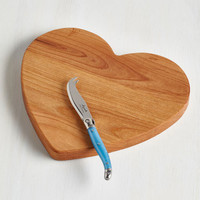 Darling Cheese to My Heart Cutting Board by ModCloth