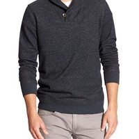 Banana Republic Mens Factory Shawl Collar Sweater