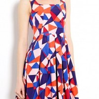 Taboo Print Silk Dress by Marc by Marc Jacobs
