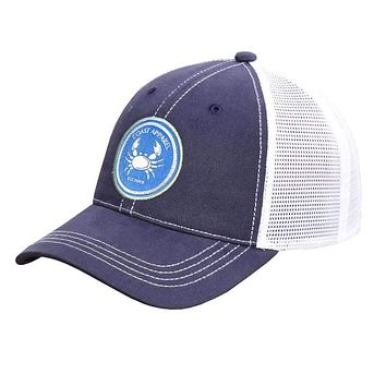Trucker Hat in Coast Crab Patch by Coast