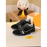 lv louis vuitton womans mens 2020 new fashion casual shoes sneaker sport running shoes 160