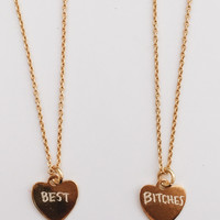 Best Bitches Necklace Duo