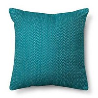 Stitch Solid Pillow - Teal - Room Essentials™