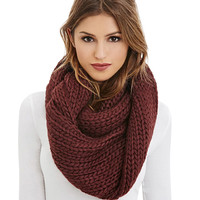 Cable Knitted Infinity Scarf