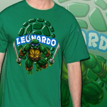 Leonardo Teenage Mutant Ninja Turtles T-Shirt