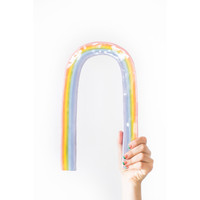 Sea Biscuit - wall hanging ceramic rainbow