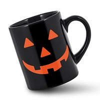 Halloween Pumpkin Black Mug