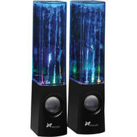 Xcellon DWS-100B USB-Powered Stereo Speakers (Black)