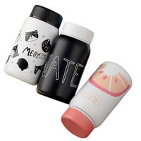 Cartoon Thermo Cup Adult Baby Bottle for Water Stainless Steel Baby Cup Thermos Bottle For Newborn Adult Children Insulation Cup