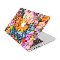 Autumn Colored Flower Arrangement Skin for the Apple MacBook