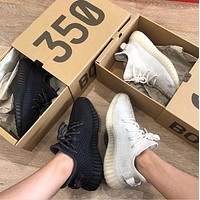 Hipgirls Adidas Yeezy 550 Boost 350 V2 Hot Sale Fashion Couple Casual Sneakers