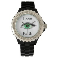 I watch and see faith