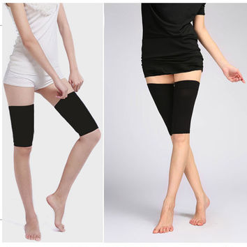 Calorie Off Massager Slimming Thigh Leg Shaper black
