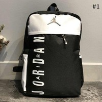 AJ AIR JORDAN Tide brand men and women backpack sports bag travel bag computer bag #1