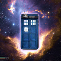Dr. Who Tardis Custom Phone Case for iPhone 4/4s, 5/5s, 6/6s, 6/6s+, iPod Touch 5