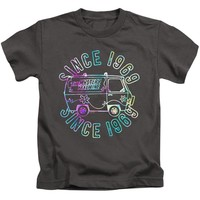 Scooby Doo Boys T-Shirt Grooving Since 1969 Charcoal Tee