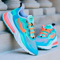 NIKE AIR MAX 270 REACT Classic Popular Men Air Cushion Sport Running Shoes Sneakers