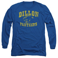 FRIDAY NIGHT LIGHTS/PANTHERS - L/S ADULT 18/1 - ROYAL - MD - ROYAL -