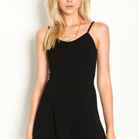 FIT AND FLARE CAMI DRESS