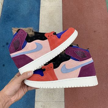 "Air Jordan 1 Aleali May ""Viotech"" BV2613-600"