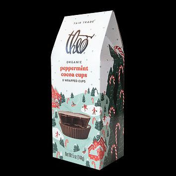 Peppermint Cocoa Cups 8-Piece Box