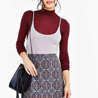 Out From Under Ribbed Turtleneck Top