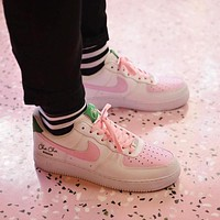 Cha Cha Matcha x Nike Air Force 1 Women's Low-Top Casual Casual Sneakers Shoes