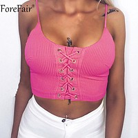 Criss-Cross Sexy Crop Top