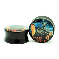 Vintage House on Haunted Hill Movie Poster Plugs (6mm-60mm)