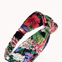 Down-To-Earth Knotted Headwrap